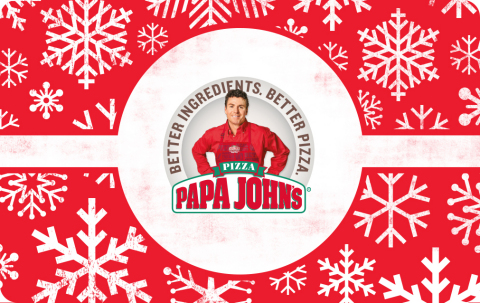 Papa John's Rings in Season of Giving with Holiday Gift Card Offer (Photo: Business Wire)