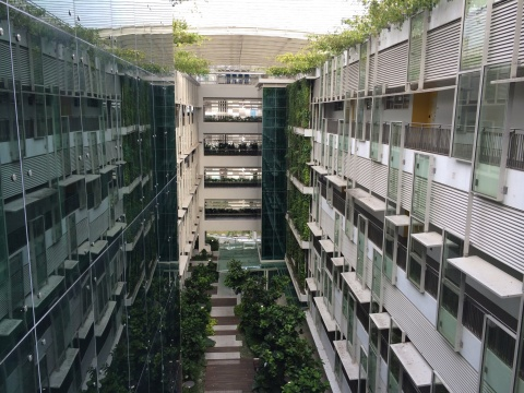 The Smart Energy Management System will be installed in JTC CleanTech One @ CleanTech Park, the first building in JTC's CleanTech Park developed to host a strong representation of cleantech industry players and research institutes such as ERI@N. (Photo: Business Wire)