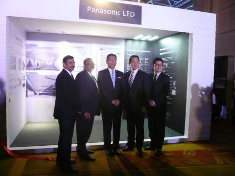 Panasonic and Anchor Electricals Executives (Photo: Business Wire)