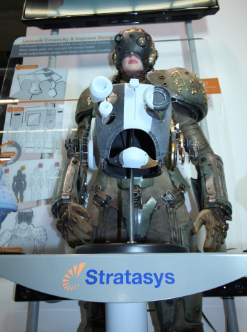 Legacy Effects creates iconic movie costumes and props with Stratasys 3D printing. (Photo: Stratasys)