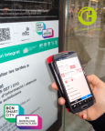 Connecthings powers 'Barcelona Contactless' (Photo: Business Wire)