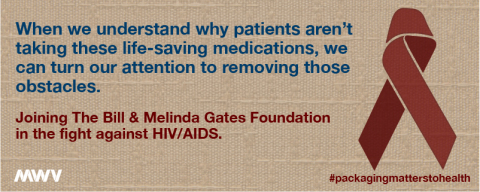MWV has received a grant to provide its Medication Event Monitoring System (MEMS™) to The Bill & Melinda Gates Foundation. The system is being used in the foundation's new demonstration projects on pre-exposure prophylaxis (PrEP) medications to help prevent the spread of HIV/AIDS in sub-Saharan Africa and India. The four studies launched in October 2014. (Graphic: Business Wire)
