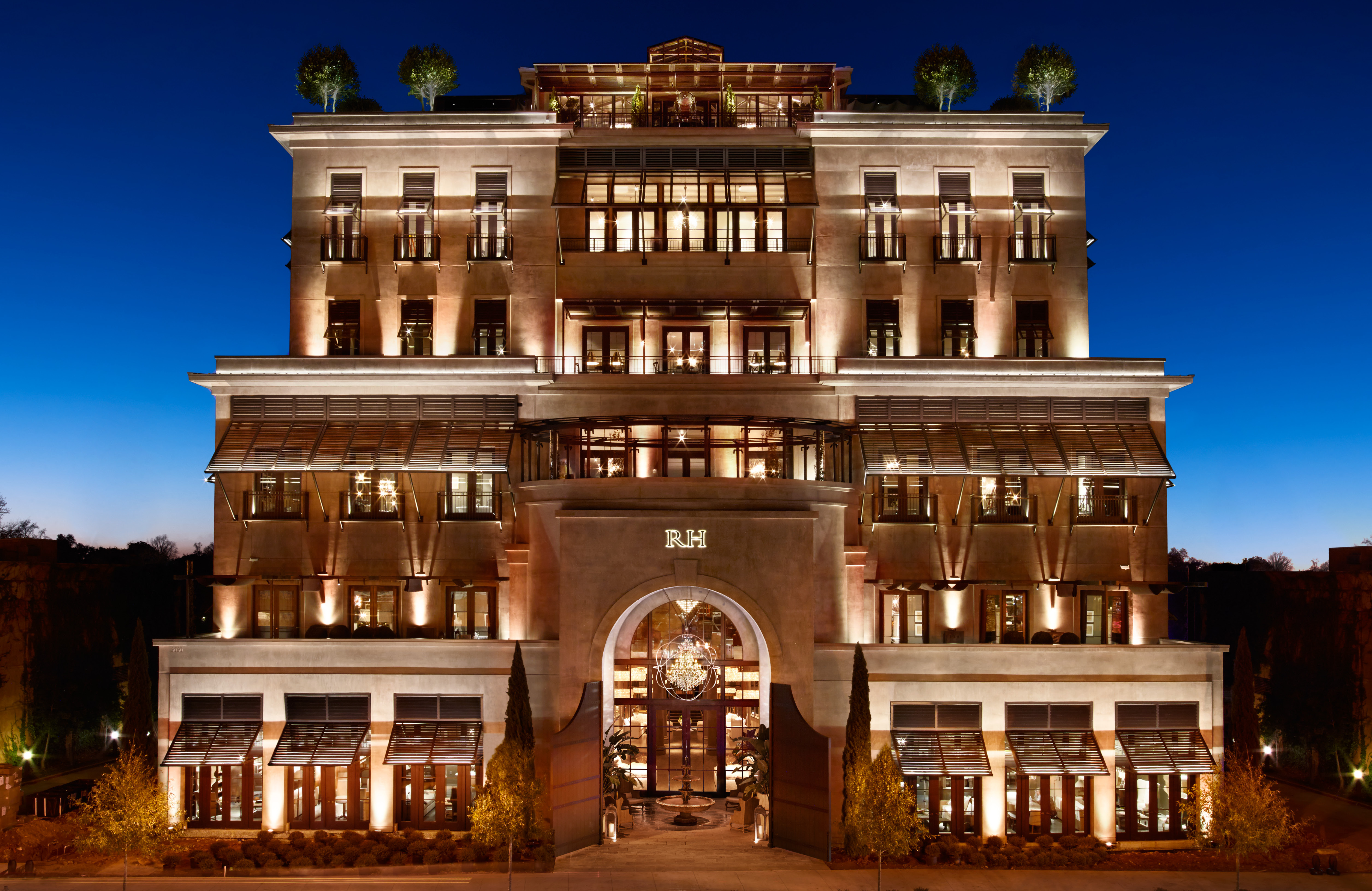 restoration hardware announces the opening of rh atlanta the