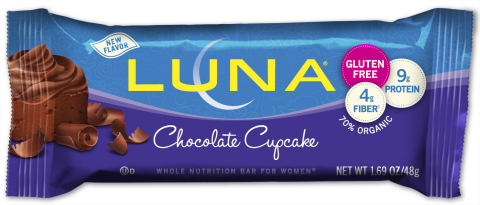 LUNA® Chocolate Cupcake (Photo: Business Wire)