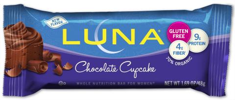 LUNA® Chocolate Cupcake (Photo: Business Wire)
