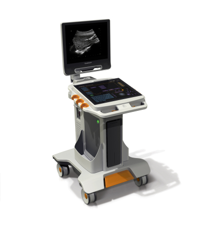 Carestream's innovative Touch Ultrasound system delivers advanced imaging capabilities, a compact footprint and a unique all-touch control panel. (Photo: Business Wire)