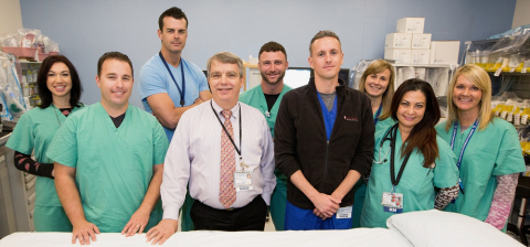 Led by Glen Seidel, MD, a nationally recognized specialist, the Pediatric Interventional Radiology staff and clinic at Lucile Packard Children's Hospital Stanford does everything from needle biopsies to tube placements - all without open incisions. (Photo: Business Wire)