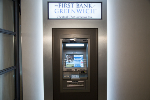 First Bank of Greenwich will expand its banking services with the addition of a Cummins Allison ATM (Photo: Business Wire)