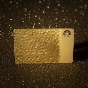 This exclusive Ultimate Starbucks Card will provide 10 winners in the U.S. the ultimate prize of Starbucks for Life. Customers can enter to win the Starbucks® It's a Wonderful Card Ultimate Giveaway by paying with a Starbucks Card or on their Starbucks mobile app. (Photo: Business Wire)