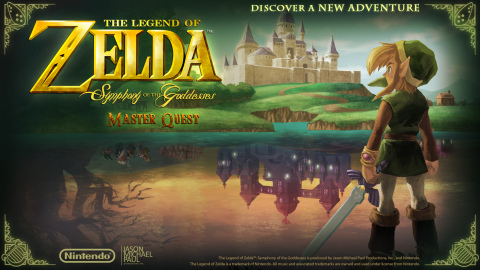 """""""The Legend of Zelda: Symphony of the Goddesses"""" concert series is back with a third installment of multimedia symphony to be toured worldwide, titled """"Master Quest."""" (Photo: Business Wire)"""