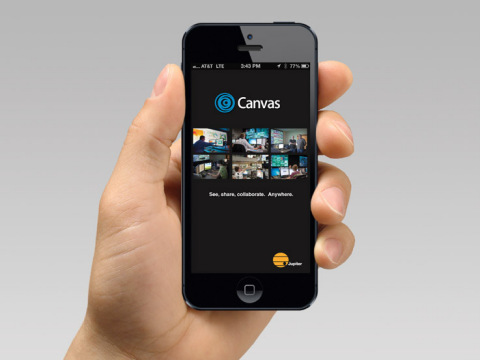 Jupiter Systems Announces Canvas 2.2, the New Version of its Award-Winning Collaborative Visualization Suite Version 2.2 which makes the enterprise-wide Canvas experience both more powerful and more economical on smartphones, tablets, PCs and video walls. (Photo: Business Wire)