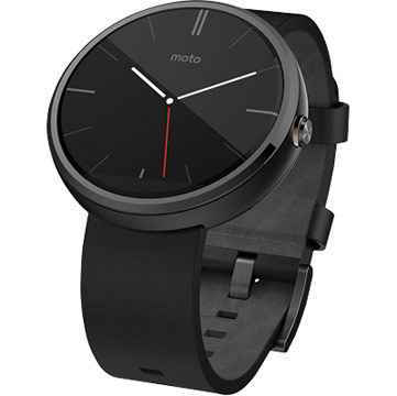 The Moto 360, available at Staples. (Photo: Business Wire)