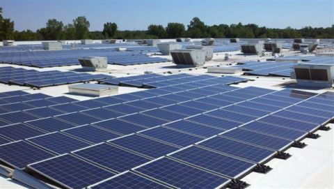 IKEA, the world's leading home furnishings retailer, today announced plans to increase the solar array atop its Detroit-area store that opened eight years ago in Canton, MI. (Photo: Business Wire)