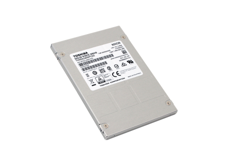 "Toshiba enterprise SSD ""HK3E2 series"" (Photo: Business Wire)"