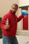 Isaiah Mustafa Helps Old Spice at HoliSPRAY Toy Donation Exchange (Photo: Business Wire)