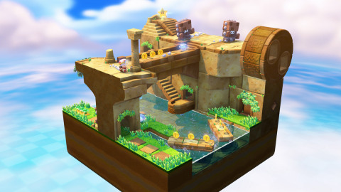 Captain Toad stars in his own puzzling quest through maze-like mini-universes, only on Wii U. (Photo ...