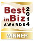 Gold Best in Biz Award 2014 (Photo: Business Wire)