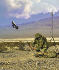 United States Army awards support services contract and option to AeroVironment for Switchblade Tactical Missile System (Photo: Business Wire)