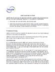 Jakafi® (ruxolitinib) Fact Sheet