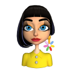 Katy Perry joins Pocket Avatars by Intel with custom 3-D avatar (Graphic: Business Wire)