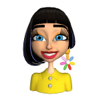 Exclusive Katy Perry avatar on video messaging app Pocket Avatars by Intel (Graphic: Business Wire)