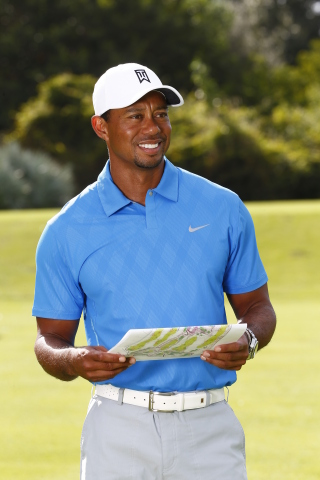Tiger Woods will design the Trump World Golf Club, Dubai, set within the desirable AKOYA Oxygen master development which is being developed by DAMAC Properties. (Photo:Business Wire)