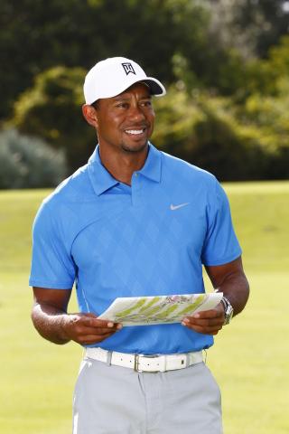 Tiger Woods will design the Trump World Golf Club, Dubai, set within the desirable AKOYA Oxygen mast ...