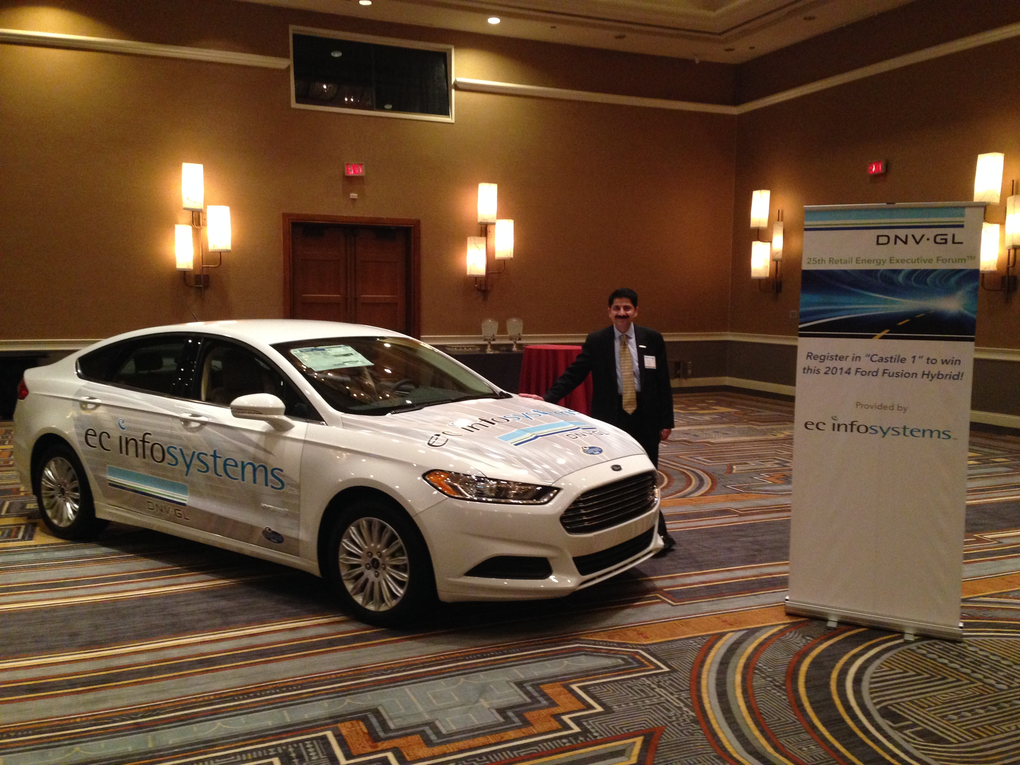 Ec Infosystems Announces Winner Of 2017 Dnv Gl Retail Executive Energy Forum Ford Fusion Hybrid Giveaway Business Wire