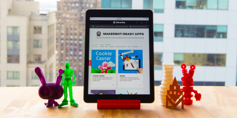 MakerBot launched its new MakerBot-Ready Made Apps Portal showcasing apps for 3D design, educational ...