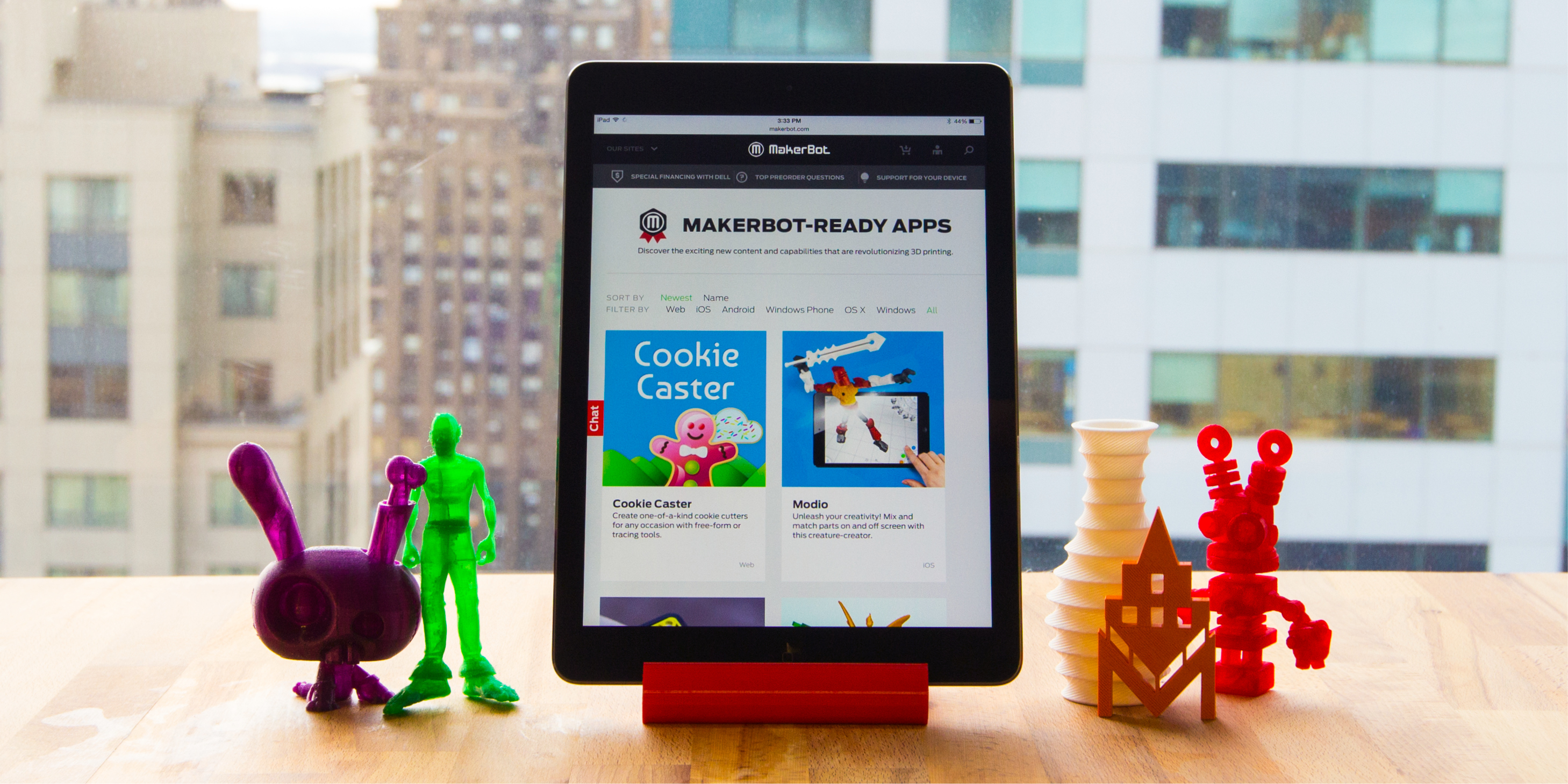 Makerbot Announces Launch Of Makerbot Ready Apps Portal With Developers Across Web Tablet And Mobile Platforms Business Wire