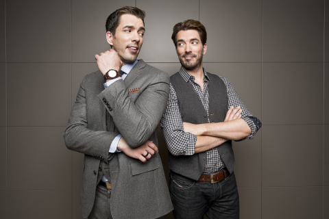 Sailing with the Scotts: The Ultimate Design Cruise to set sail November 2015. HGTV design personalities Drew & Jonathan Scott to host Carnival Cruise. (Photo: Business Wire)