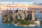 CBRE Brand image (Graphic: Business Wire)