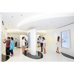 """""""Gift of Creativity"""" Interactive Area (Photo: Business Wire)"""