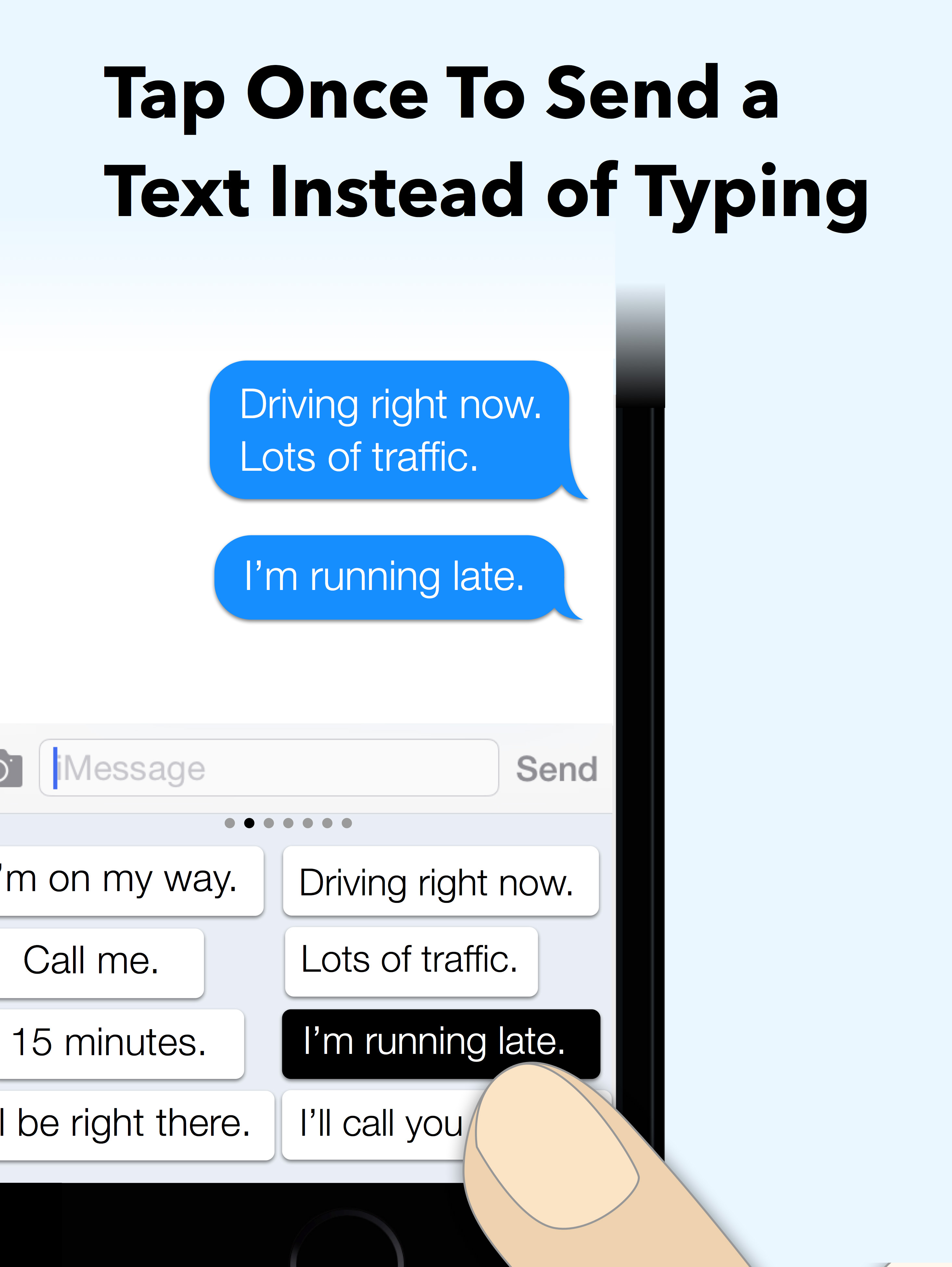 Reduce Your Typing While Driving – New iPhone Keyboard Lets You Send