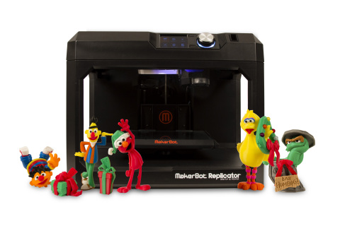 MakerBot celebrates the holidays with new 3D printed Sesame Street characters available in the Maker ...