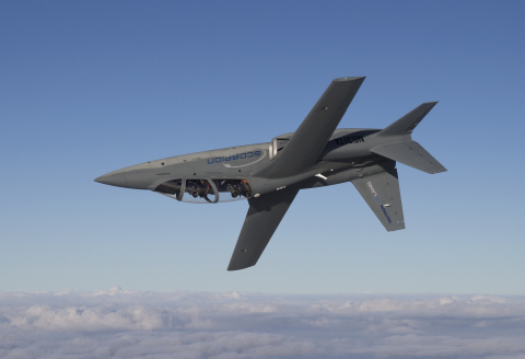 Scorpion completed its 266th flight test hour on December 12, 2014 in Wichita, Kansas, on the anniversary of its first flight. (Photo: Business Wire)