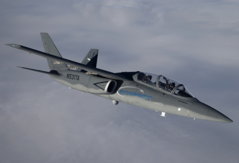 Scorpion's first-year availability rating was greater than 95 percent, a high score for any prototype tactical jet aircraft. (Photo: Business Wire)