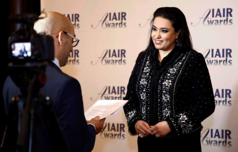 Nashwa Al Ruwaini awarded as IAIR Most Influential Woman of the Year (Photo: Business Wire).
