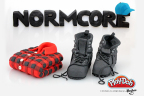"""The """"Normcore"""" style has a new designer in 2014 - the PLAY-DOH brand! This nostalgic 90's inspired fashion trend has made its way back into closets in 2014 and into the """"A Year in PLAY-DOH Moments"""" list! To view the other sculptures, be sure to visit the PLAY-DOH Facebook page: https://www.facebook.com/playdoh (Photo: Business Wire)"""