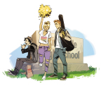 NOT FINAL Archie promotional artwork by series artist Fiona Staples.