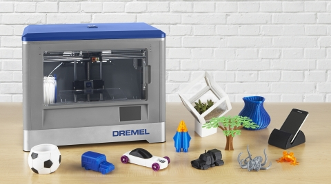 "The new Dremel 3D Idea Builder was designed in response to demand from ""Makers"" and has quickly jump ..."