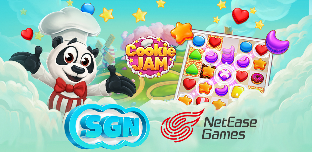 SGN and NetEase Team Up to Bring Wildly Popular Game Cookie Jam to ...