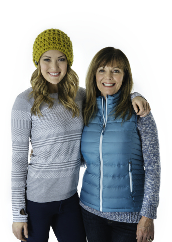 Amy and Sheri Purdy (Photo: Business Wire)
