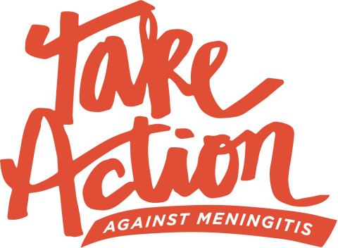 """""""Take Action Against Meningitis"""" campaign encourages parents to take a pledge to talk to their healthcare provider about helping to protect their teen or young adult from meningococcal meningitis (Graphic: Business Wire)"""