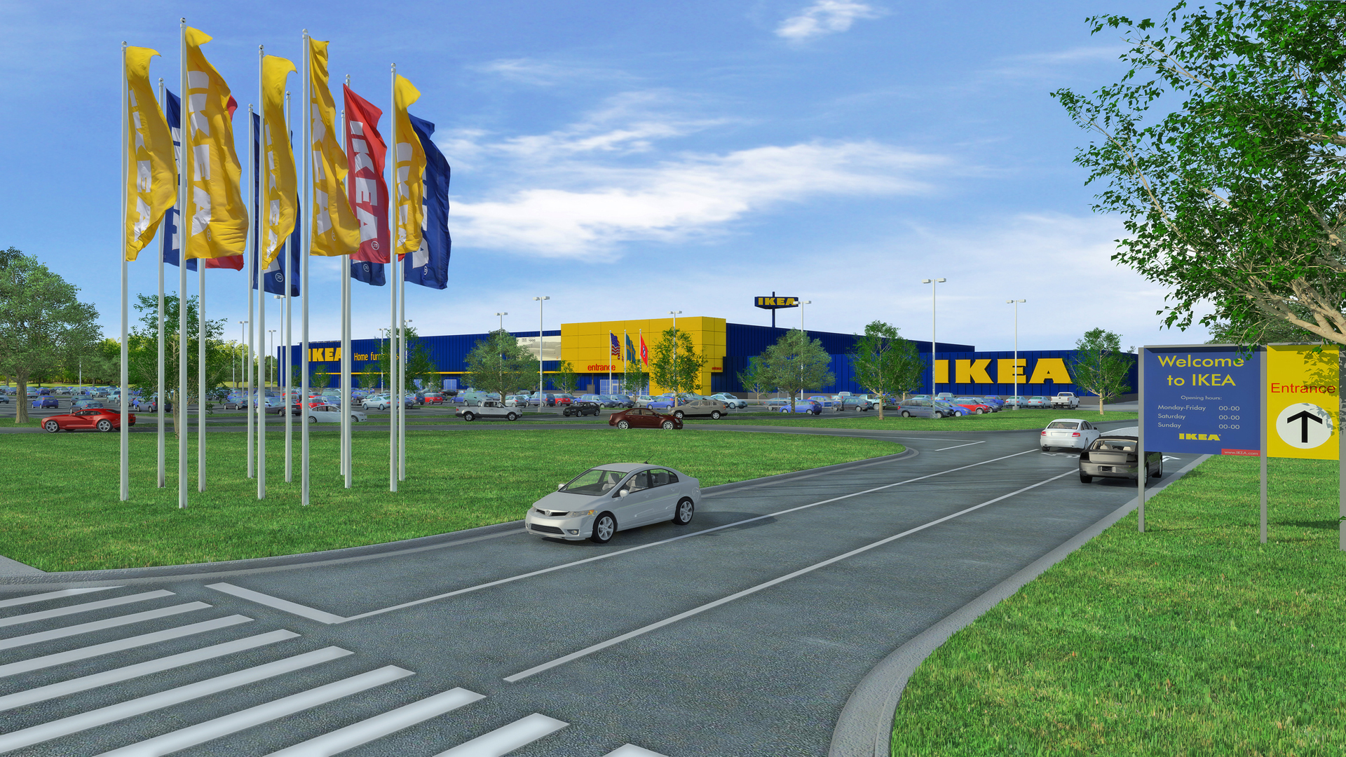 ikea proposes plans for opening a memphis store in fall 2016 as swedish retailer looks to expand. Black Bedroom Furniture Sets. Home Design Ideas