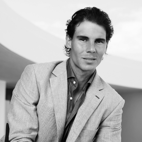 Rafael Nadal in Tommy Hilfiger Tailored (Photo: Business Wire)