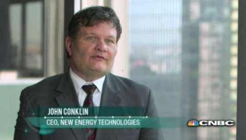 Mr. John Conklin, President & CEO, presented SolarWindow™ technology during a CNBC Industrial Revolutions series: Solar: The future of energy? Source: CNBC