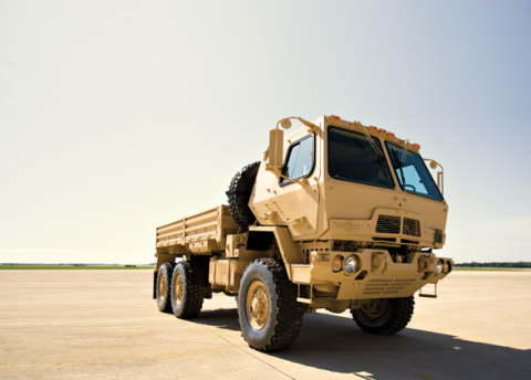 The 256 FMTVs ordered by the U.S. Army will continue to support soldiers at home and abroad. (Photo: Business Wire)