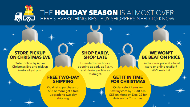 best buy makes last minute holiday shopping easy and convenient business wire - Best Buy Hours Christmas Day
