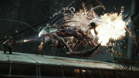 Wraith - The third playable Monster character is a small, terrifying, stealthy assassin that is quick in her movements and has two exceptionally long blades to deal damage up close. (Photo: Business Wire)
